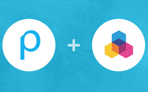 Publitas & Channable logos. Publitas partners up with Channable.