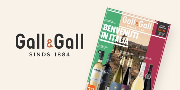publitas customer case logo Gall & Gall