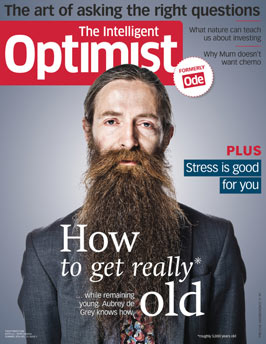 Cover of The Intelligent Optimist digital magazine